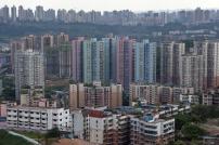 Apartment buildings in Chongqing