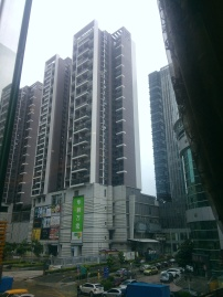 View from restaurant in Shenzhen factory district