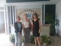 First factory visit in Shenzhen
