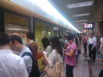 Guanzhou subway station