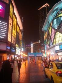 Chongqing at night