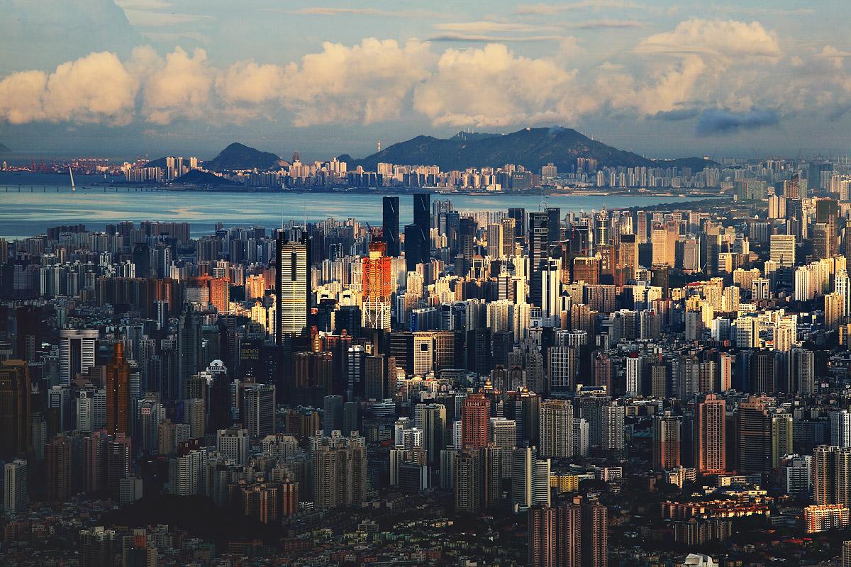 Zeit in Shenzhen Guangdong China