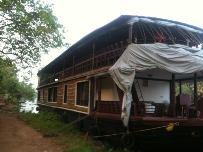 Our houseboat!