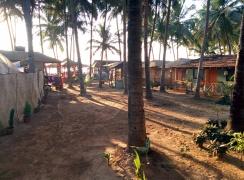 Sonho do Mar huts