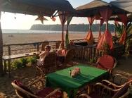 Lounge area at Sonho do Mar