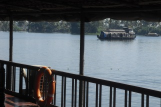 View from our houseboat