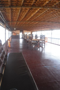 Top floor of our houseboat