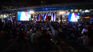 Asok music concert at night