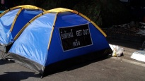 Camping at Silom