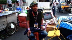 Security guard at Silom