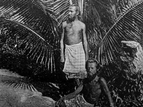 August Engelhardt und ein Anhänger des Sonnenbundes im Einklang mit der Natur