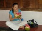 Kokosnuss-Wasser ist ein erfrischendes und nahrhaftes Lebensmittel