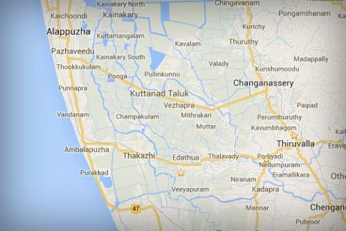 Thakazhy region