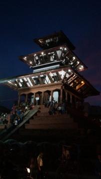 Hippie Tempel am Durbar Square