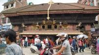 Tempel am Indra Chowk