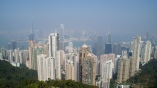 North side of Hong Kong Island, as seen from Victoria Peak
