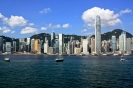 Hong Kong Island as seen from Kowloon
