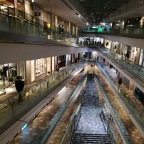 Shopping mall in Tokyo